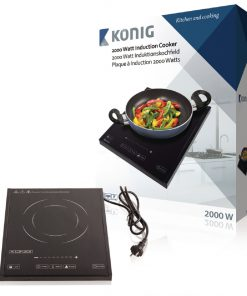 König HA-INDUC-12N 1-Zone Inductiekookplaat 2000W