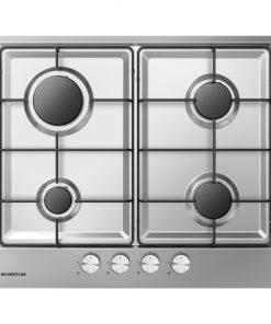 Inventum IKG6021RVS Inbouw Gaskookplaat